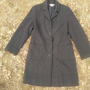 J. Crew Wool Cashmere Thinsulate Lined Coat